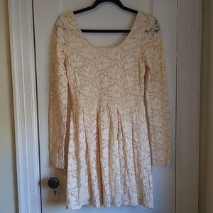Free People Skater Lace Dress